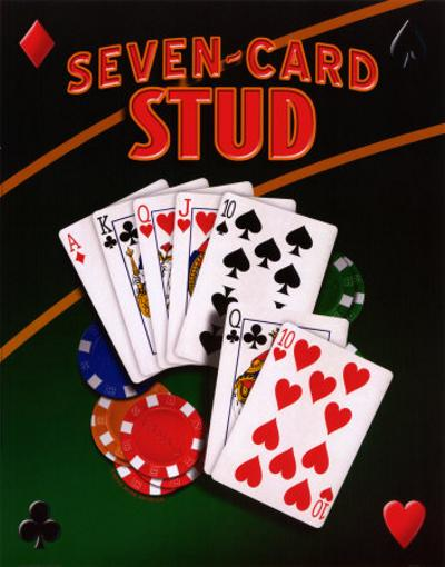 7 card stud hands